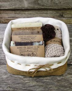 Gift Pack  - gift basket, soap gift set , handmade soap, all natural soap, cold process soap on Etsy, $43.67