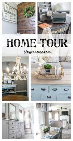 Home Tour - Bless'er House