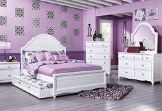 Purple bedroom!!