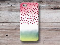 Polka Dots Color Gradient Case iPhone 4 5 6 S4 S5