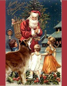 Santa loves Wolves, too.