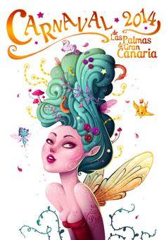 El Carnaval de Las Palmas no se merece un cartel de stock   Código Visual