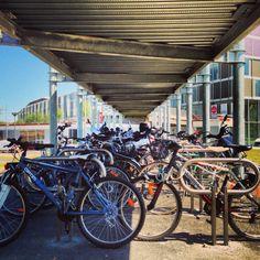 Parking à vélo, gare de Metz.