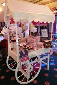 Pictures Victorian Candy Cart Sweet Cart Candy Buffet For Hire Any Event Party Food Bars, Party Treats, Dessert Buffet Table, Candy Buffet, Wedding Reception Food, Wedding Ideas, Baby Shower Deco, Sweet Carts, Bar A Bonbon