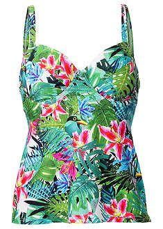Top Plazowy Na Fiszbinach Bpc Bonprix Collection Bpc Bonprix Collection Tankini Swimwear
