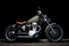Suzuki bobber style... Love it! I may have to buy it!