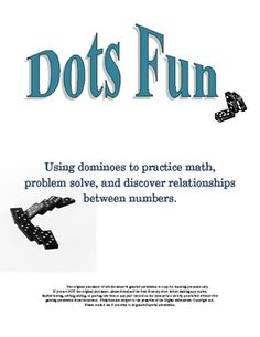 Awesome domino math resources.