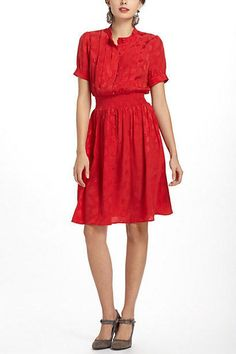 Anthropologie Crimson Social Dress Size 6 By Maple