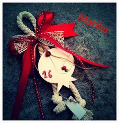 Christmas Crafts, Christmas Decorations, Xmas, Christmas Ornaments, Holiday Decor, Lucky Charm, Tassel, Diy Home Decor, Greek