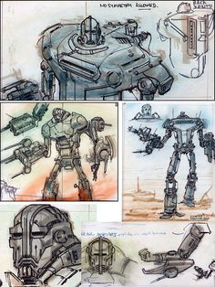 falloutuniverse: Liberty Prime (Pt. 1) Adam Adamowicz » Fallout 3 Concepts It saddens me that he won't be involved in Fallout 4.