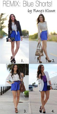 Remix: Blue Shorts!!!