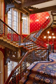 Rough Luxe Hotel - London, United Kingdom - Gothic arched windows and the famed…