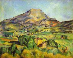 Paul Cézanne. Mount Sainte Victoire. Google Image Result for http://www.artinthepicture.com/artists/Paul_Cezanne/mount.jpeg
