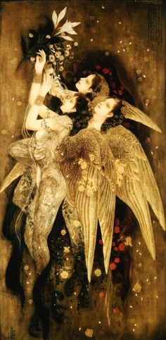 by Masaaki Sasamoto ~ from the 2008 gallery...angel wings