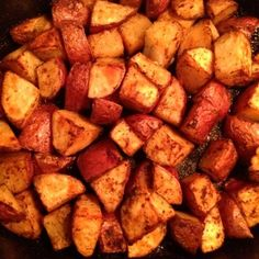 cumin and paprika roasted red potatoes