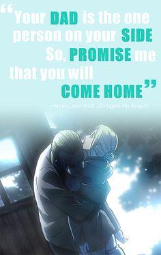 Come Back Home | Annie Leonhardt / Leonhart | Attack on Titan / Shingeki no Kyojin | AoT / SnK
