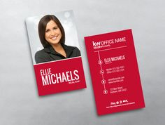 16 best new keller williams business card templates images on keller williams business card style klr217 fbccfo