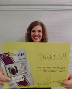 Happy Customer Winner for February - Joanne B. from North Carolina