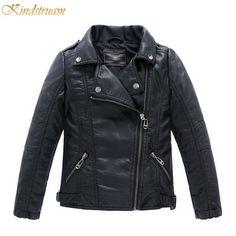 Boy's Faux Leather Jackets