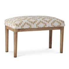 Threshold™ Woven Bench - Brown and White #targetstyle
