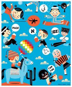 Derechos del niño: Derecho a mi cultura, by Pablo Zweig