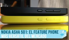 Nokia Asha 501 llega a México, un feature phone de 1,500 pesos on http://conectica.com.mx