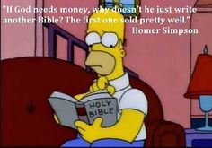 Bible 2.0 Homers idea! #pic