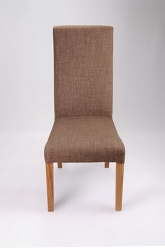 http://www.bonsoni.com/buxo-linen-style-cinnamon-chair-pair-by-sherman  Upholstered in luxurious fabric with a linen look and feel. Each chair has a sprung and belted seat area for additional comfort and to retain bounce and shape. Available in a good selection of colourways. Solid oak legs. Supplied fully assembled. Sold in boxes of two.  http://www.bonsoni.com/buxo-linen-style-cinnamon-chair-pair-by-sherman