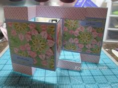 KreatesKards: Tri-Shutter Card - Tutorial