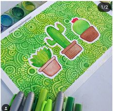 Discover recipes, home ideas, style inspiration and other ideas to try. Colorful Drawings, Art Painting, Art Drawings, Zentangle Drawings, Doodle Art Drawing, Cute Art, Zentangle Art, Marker Art, Sharpie Art