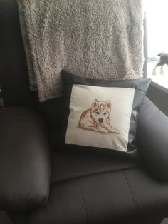 A personal favourite from my Etsy shop https://www.etsy.com/uk/listing/599968668/puppy-cushion-cover