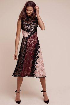 Nanette Lepore Opera Lace Dress