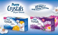 Another great giveaway! Enter for free! 3 lucky winners. Just Call Me The Girl With The Spider Tattoo: Purex Crystals Lavender Blossom Dryer Sheets Revie...
