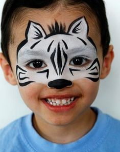animal face painting kids - Google Search                                                                                                                                                      More #facepaintingideas