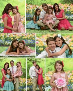 The BEST Spring Photo shoot for your family! Peek at the NEW Portrait Innovations Spring Background!