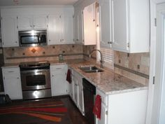 Bianco Antico Granite Countertops Installed In Charlotte NC, Columbia SC  And Surrounding Areas.