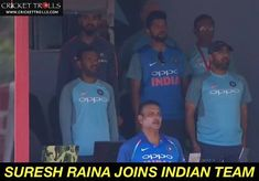 Suresh Raina joins Indian team for T20I series against South Africa #SAvIND - facebook.com/MyCricketTrolls Indian Cricket News, Chennai Super Kings, South Africa, Times, Facebook, My Love, Sports, Hs Sports, Sport