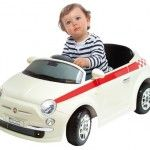 Motorama Jr radio-controlled ride-on Fiat 500 for kids