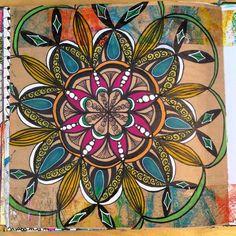 JJ Creations - My Brain on Paper, Mandala