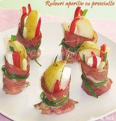 Retete mancare Gateste Inteligent Rulouri aperitiv cu prosciutto