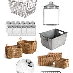 Modern Farmhouse Laundry Room Reveal & ORC Week 6 & Gather and Flourish Kitchen Pantry Organisers, Kitchen Organization Pantry, Pantry Storage, Cabinet Storage, Pantry Ideas, Rustic Farmhouse Decor, Farmhouse Style Decorating, Modern Farmhouse, Style Pantry