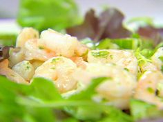 Shrimp Salad with Cucumber and Mint from FoodNetwork.com