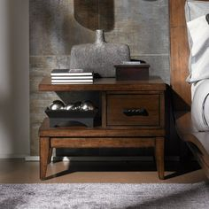 Lexington 11 South Encore 1 Drawer Nightstand modern nightstands and bedside tables