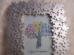 Cornice con i puzzle More