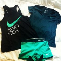 Nike running gear will be on my wish list for the rest of my life bahaha -B