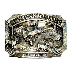 Bai You Mei Mens Western Style Fly Eagle Belt Buckle Vintage Style American Cowboy Fashion Belt Buckles