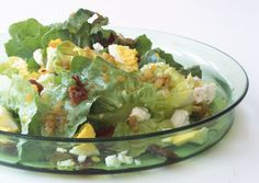 Warm Escarole Salad with Goat Cheese, Hard-Boiled Eggs, and Bacon Recipe - Bon Appétit Goat Cheese Recipes, Goat Cheese Salad, Bacon Recipes, Quick Recipes, Keto Recipes, Salad Recipes For Dinner, Healthy Salad Recipes, Healthy Meals, Healthy Food