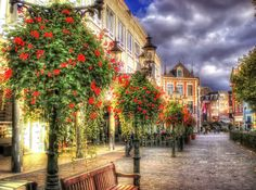 Venlo Netherland - visited lots of times when based in Germany in the late 1970's & early '80's - pretty town with lovely market ...