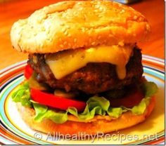 Veggie Beef Burgers Recipe