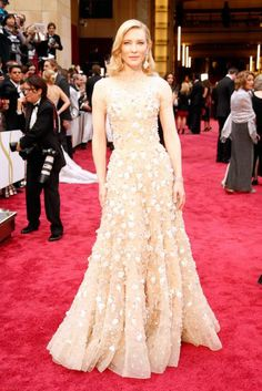 Cate Blanchette GORGEOUS.  Oscars Red Carpet- Best 2014 Red Carpet Dresses